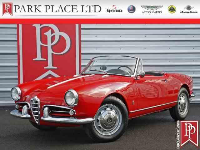 1962 Alfa Romeo Giulietta Spider | 977180