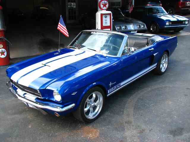 1966 FORD MUSTANG CONVERTIBLE SHELBY KILLER | 977182