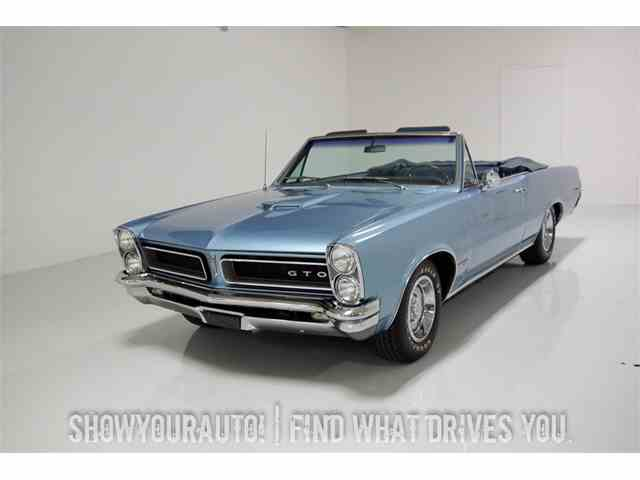 1965 Pontiac GTO for Sale on ClassicCarscom  42 Available