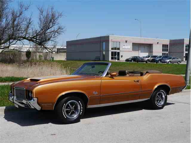1972 Oldsmobile Cutlass Supreme Convertible | 977313