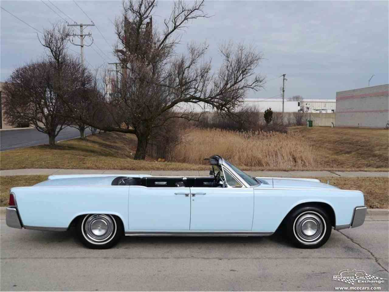1964 lincoln continental for sale cc 977339. Black Bedroom Furniture Sets. Home Design Ideas