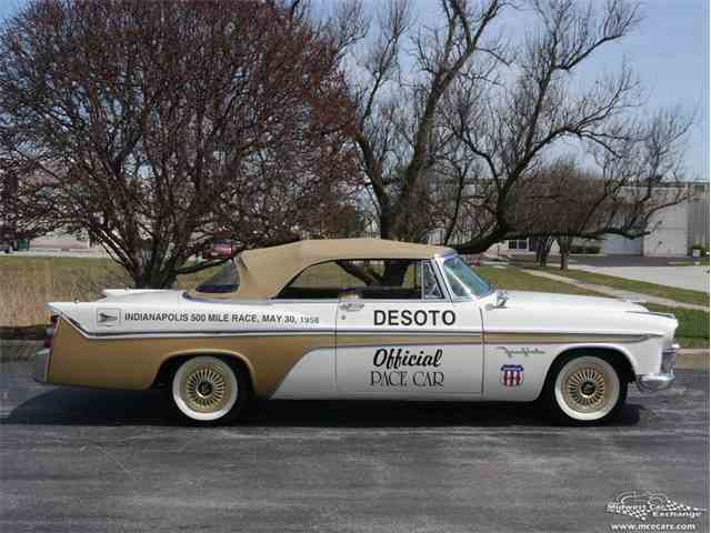 1956 DeSoto Fireflite Pacesetter Convertible Pace Car | 977361