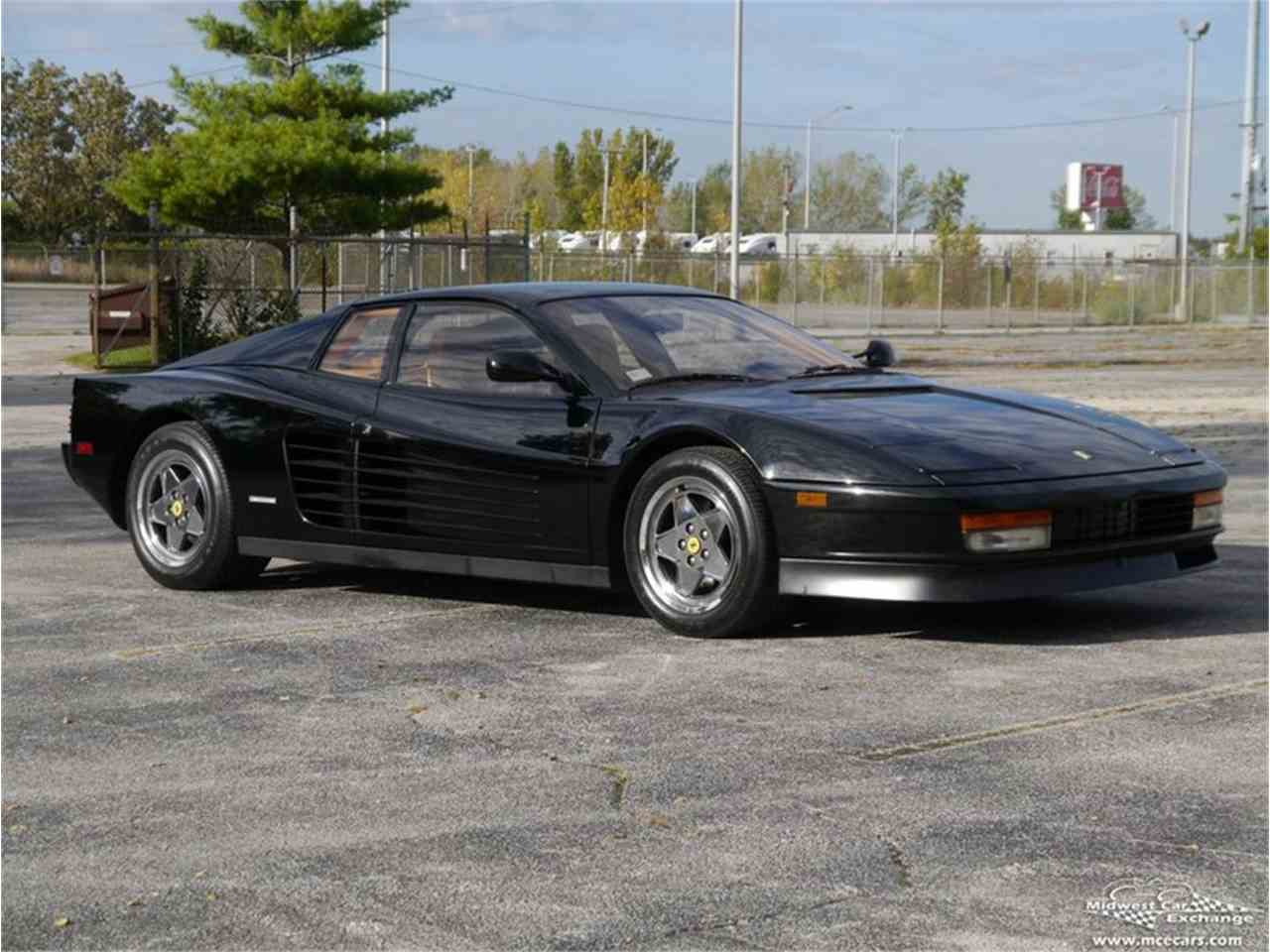 Classic ferrari testarossa for sale on classiccars 20 available 1989 ferrari testarossa 977385 vanachro Gallery