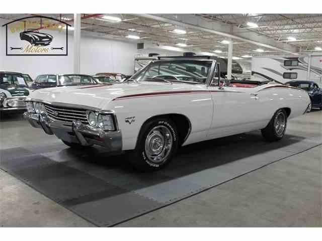 1967 chevrolet impala for sale on 19 available. Black Bedroom Furniture Sets. Home Design Ideas