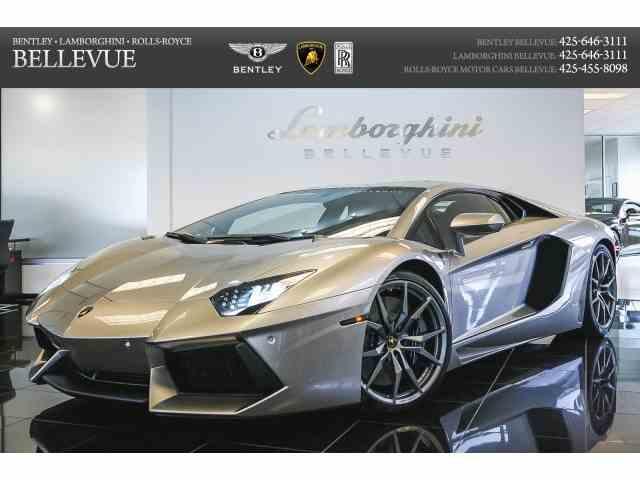 2014 Lamborghini Aventador | 977521