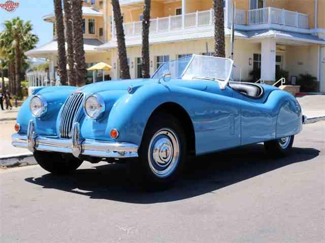 1955 Jaguar XK   977545