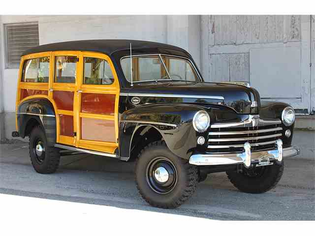 1948 Ford Woodie Marmon-Herrington 4x4 Super Deluxe Wagon | 970768