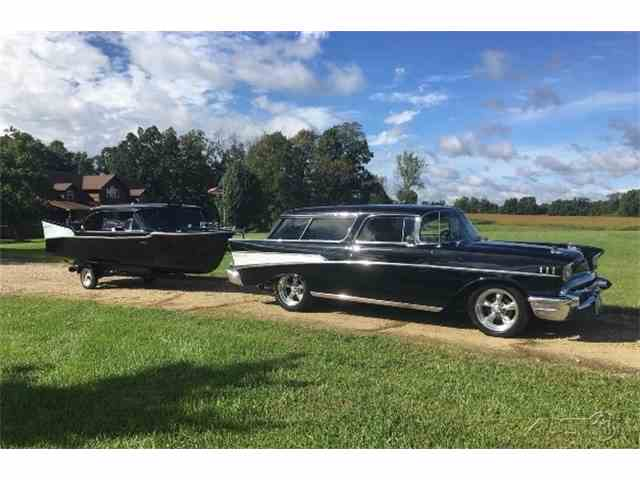 1957 Chevrolet Nomad with Matching Boat | 970779