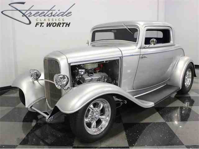 1932 Ford 3Window Coupe for Sale on ClassicCarscom  23 Available