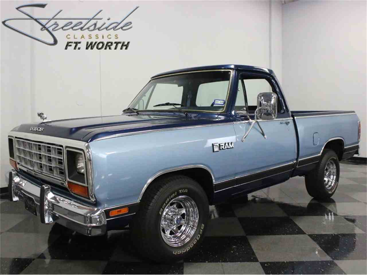1985 Dodge D100 Custom Prospector for Sale | ClassicCars ...