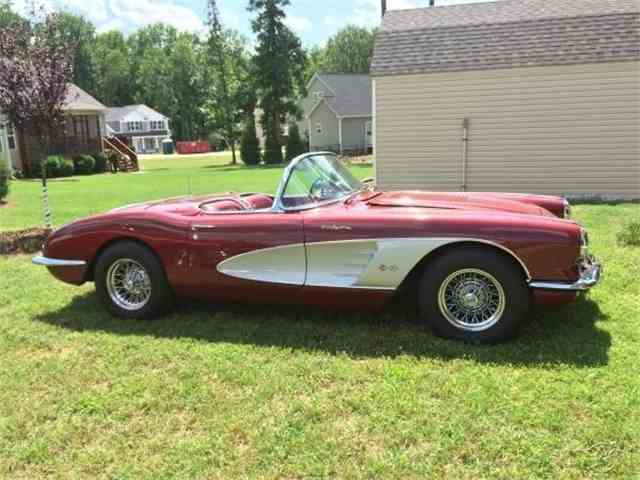 1958 Chevrolet C-1 Corvette Convertible | 970784