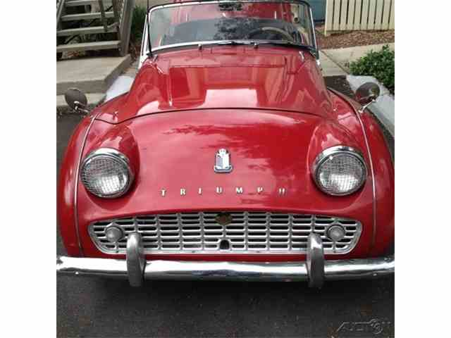 1962 Triumph TR3B   970799