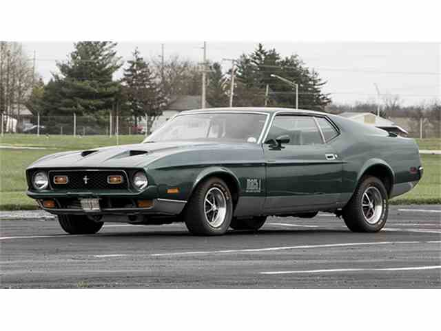 1971 Ford Mustang Mach 1 | 978016