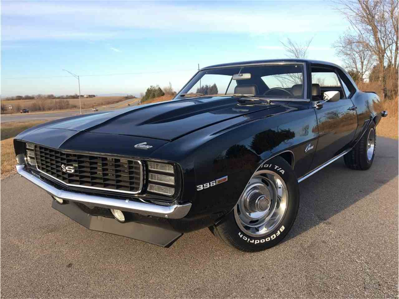 1969 chevrolet camaro ss for sale cc 978111. Black Bedroom Furniture Sets. Home Design Ideas