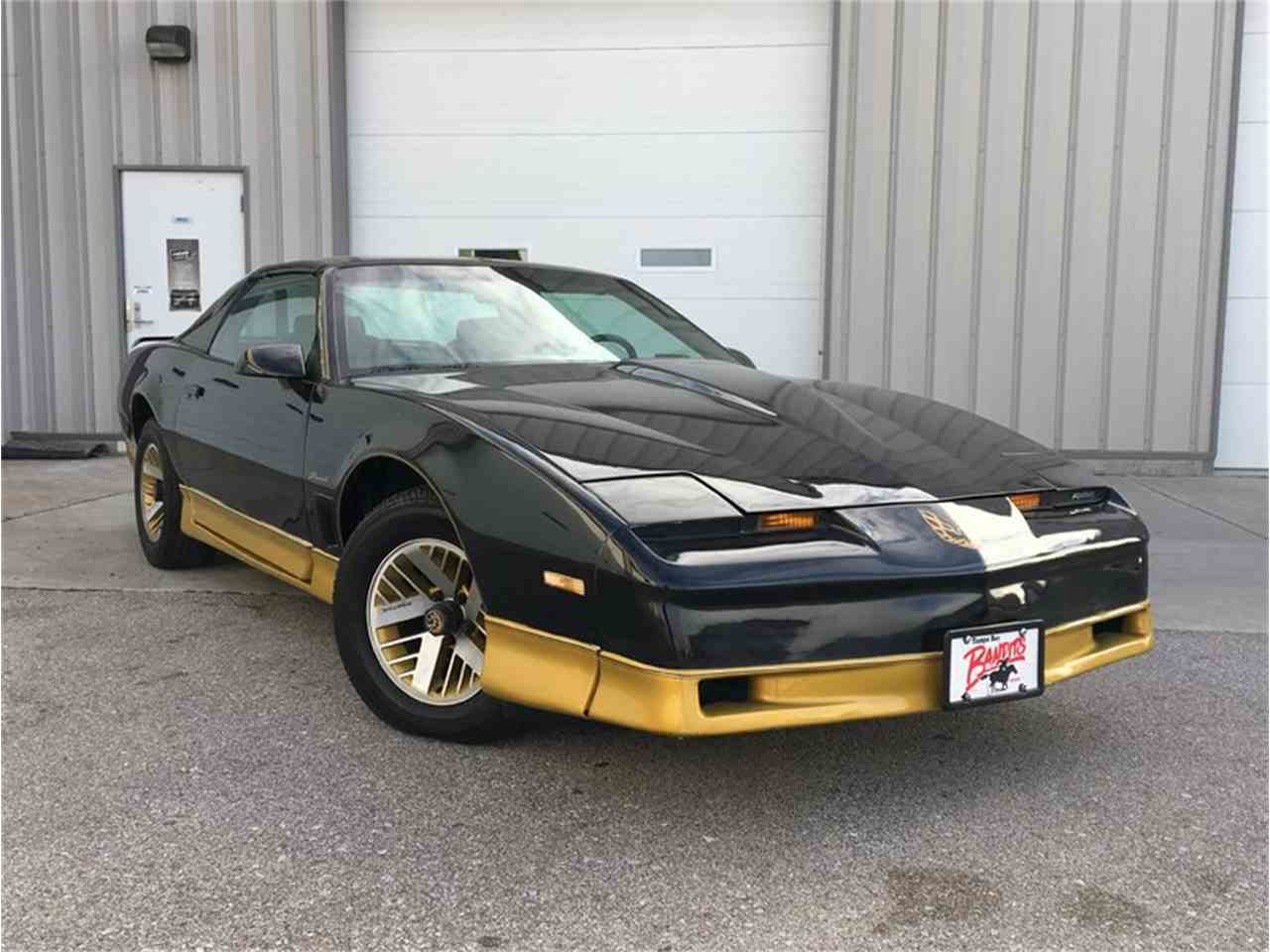 1984 pontiac firebird trans am for sale cc 978115. Black Bedroom Furniture Sets. Home Design Ideas