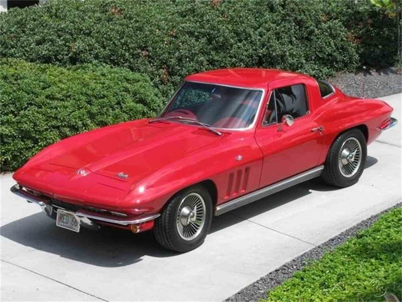1966 chevrolet corvette stingray coupe for sale cc 970816. Black Bedroom Furniture Sets. Home Design Ideas