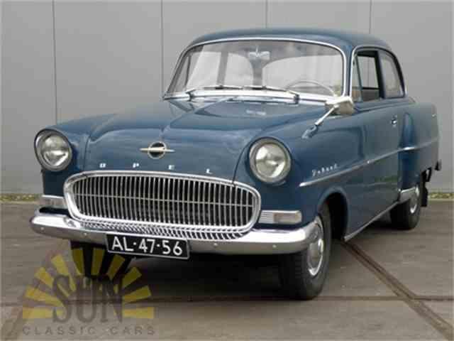 1957 Opel Olympia record | 978186