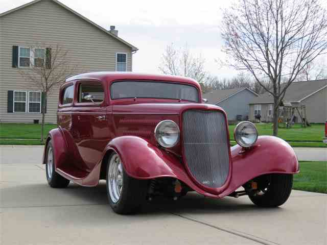 1934 Ford 2-Dr Sedan custom | 978340