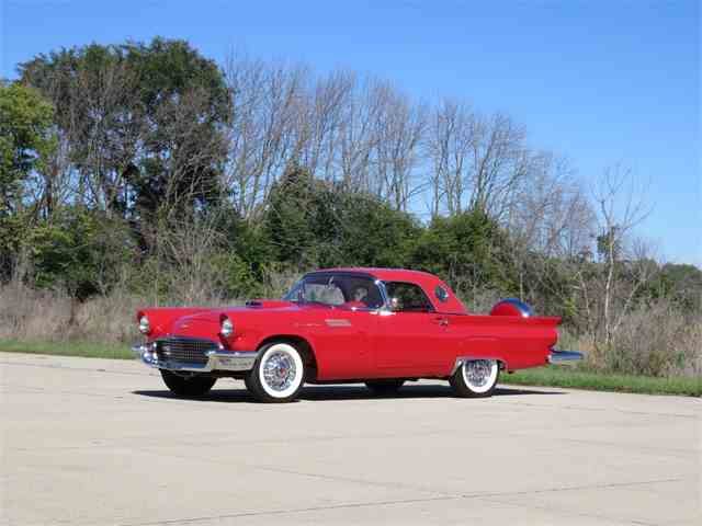 "1957 Ford Thunderbird ""F-bird"" clone 