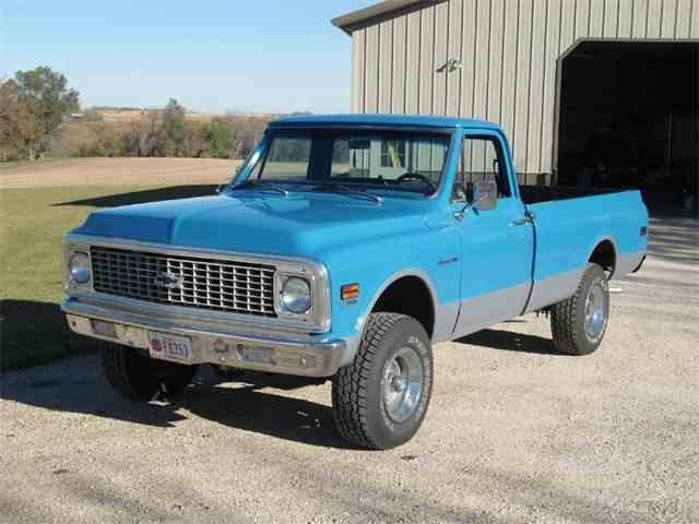 1972 Chevrolet K10 Custom Pickup | 970849