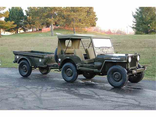 1952 Willys M38 Military Jeep | 970085