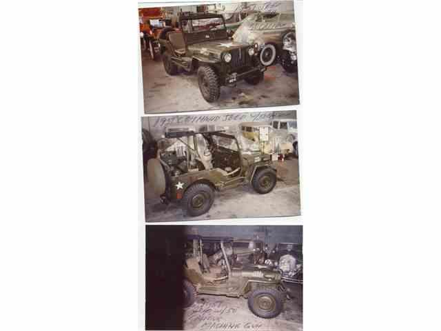 1951 WILLEYS ARMY COMMANDO CONV JEEP | 978543