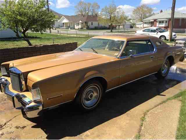 1975 Lincoln Continental Mark IV Gold Edition | 970858