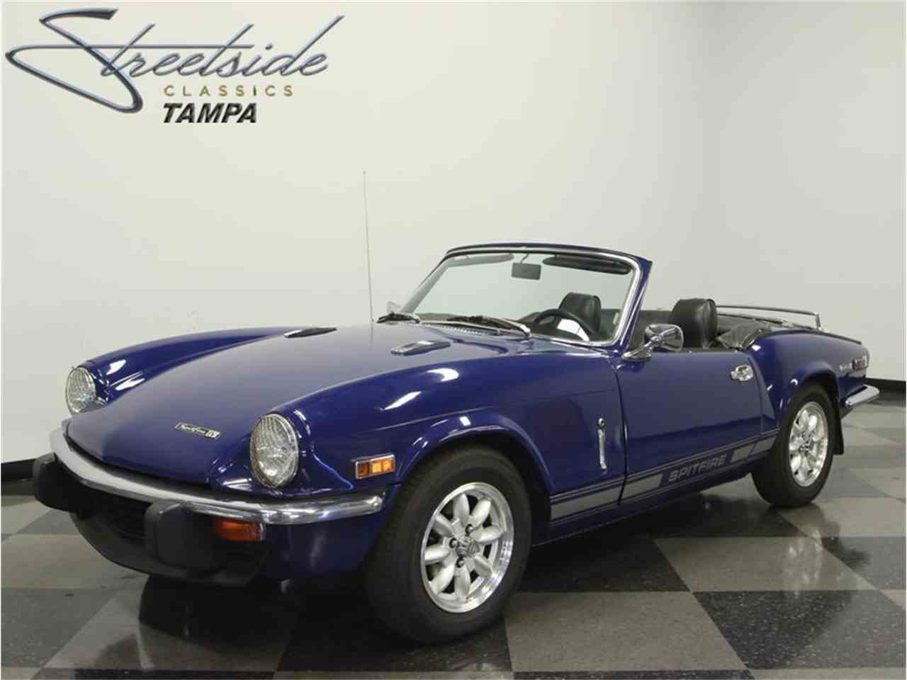 1972 triumph spitfire for sale cc 978791. Black Bedroom Furniture Sets. Home Design Ideas