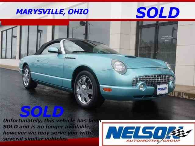 2002 Ford Thunderbird | 978800