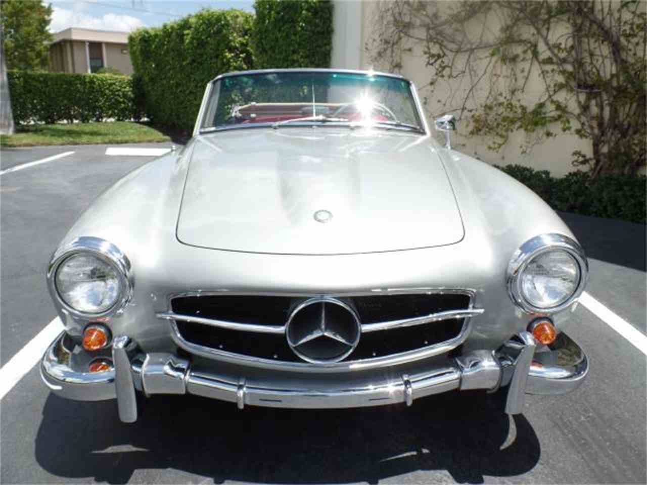 1956 mercedes benz 190sl for sale cc for Mercedes benz of west palm beach