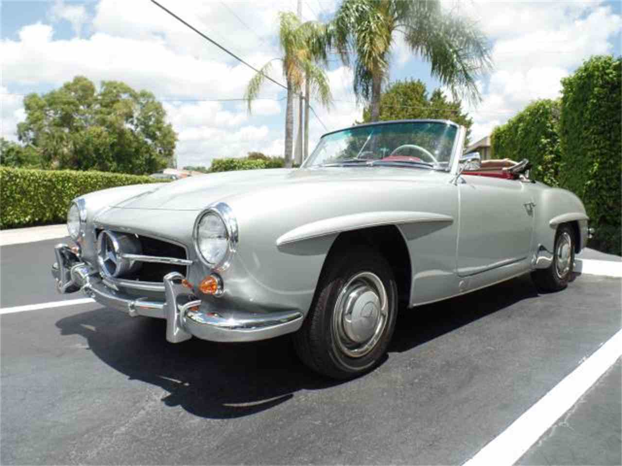 1956 mercedes benz 190sl for sale cc for Mercedes benz palm beach inventory