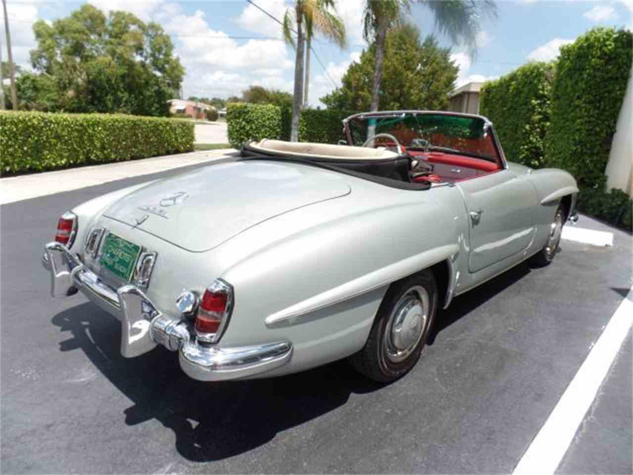 1956 mercedes benz 190sl for sale cc for Palm beach mercedes benz