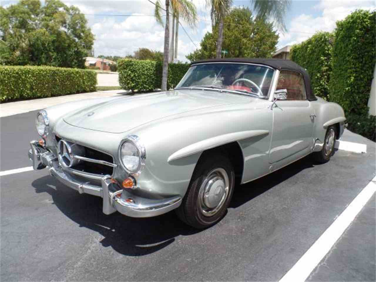 1956 mercedes benz 190sl for sale cc 978829. Black Bedroom Furniture Sets. Home Design Ideas