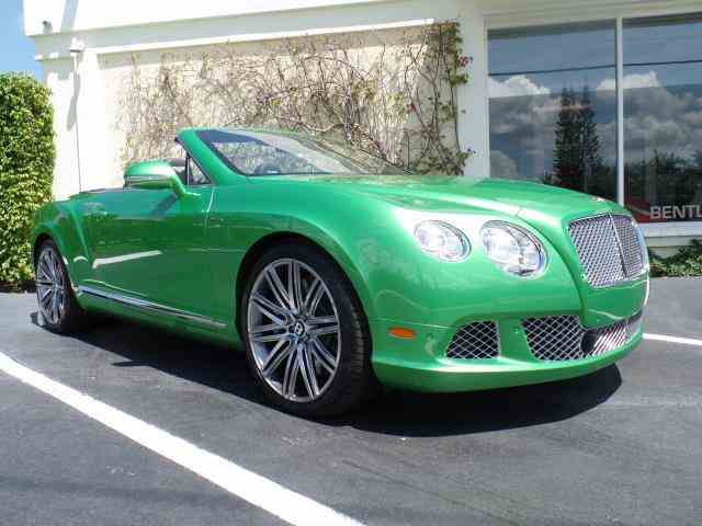 2014 Bentley Continental GTC Speed W12 | 978838
