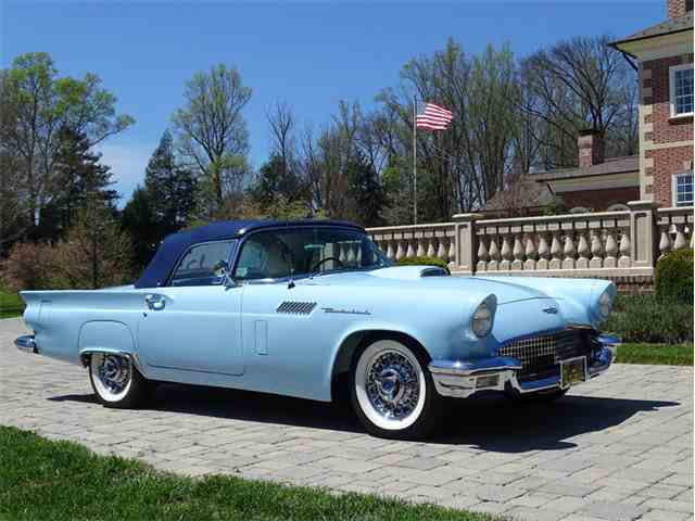 1957 Ford Thunderbird Minter E Code | 978986