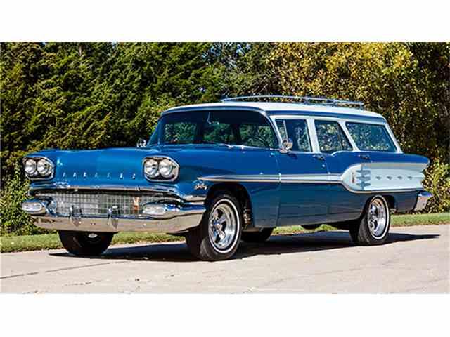 1958 Pontiac Star Chief Custom Safari Wagon  - Restomod | 979119