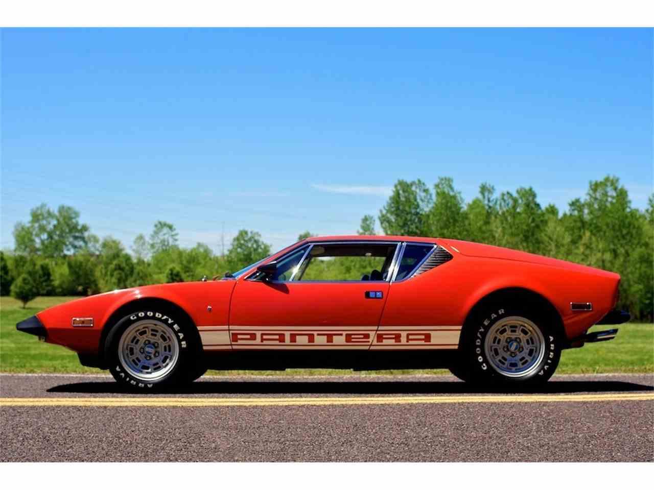 Classic detomaso Pantera for Sale on ClassicCarscom  5 Available