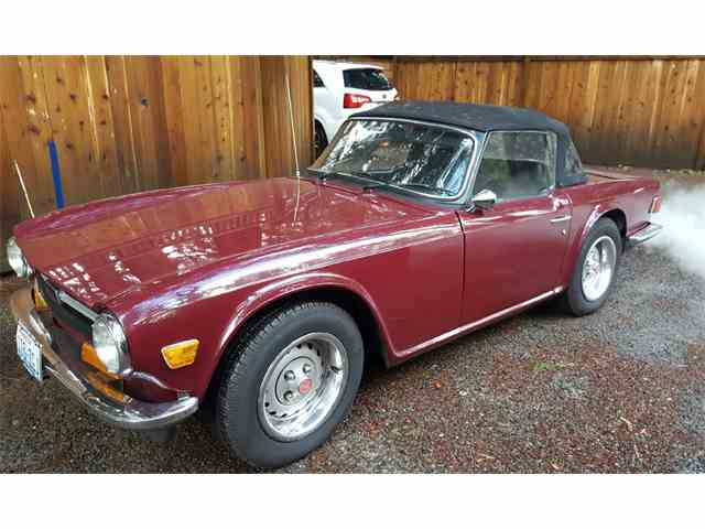 Classic triumph tr6 for sale on 69 available for Triumph motor cars for sale
