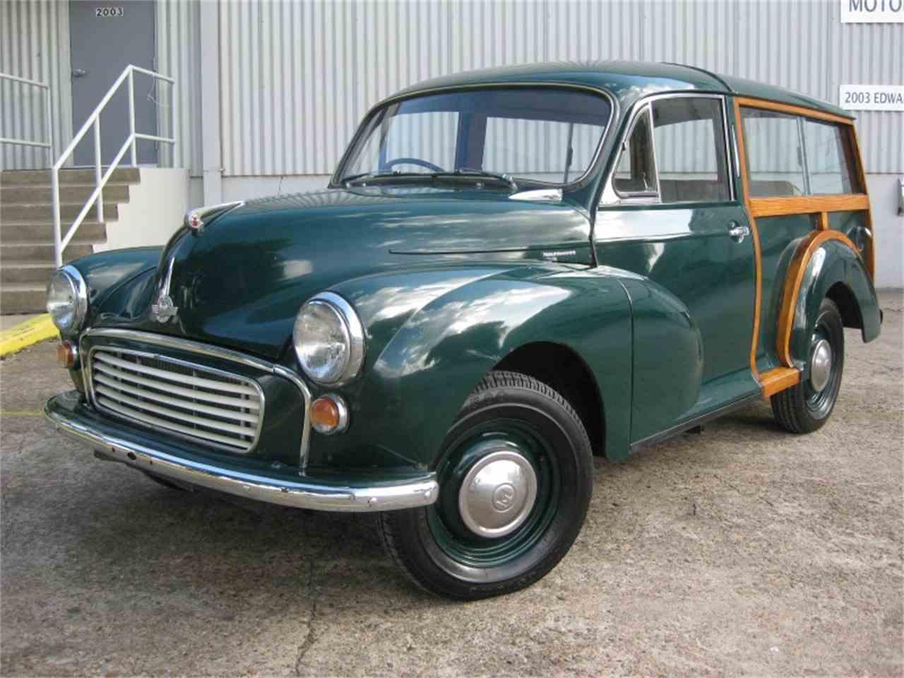 1956 morris minor 1000 2dr traveler for sale classiccars. Black Bedroom Furniture Sets. Home Design Ideas