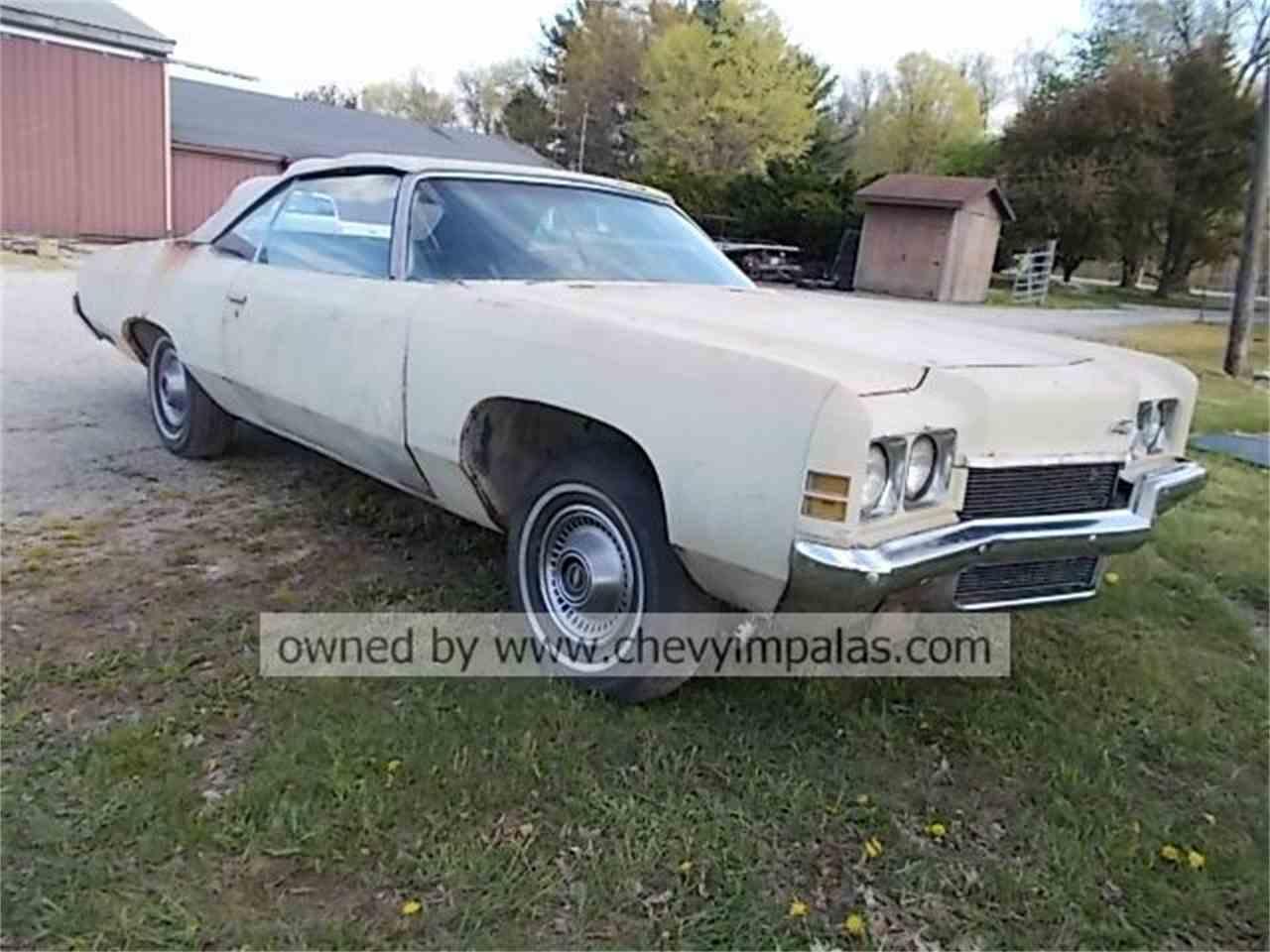 Impala 1972 chevrolet impala for sale : 1972 Chevrolet Impala for Sale | ClassicCars.com | CC-979332