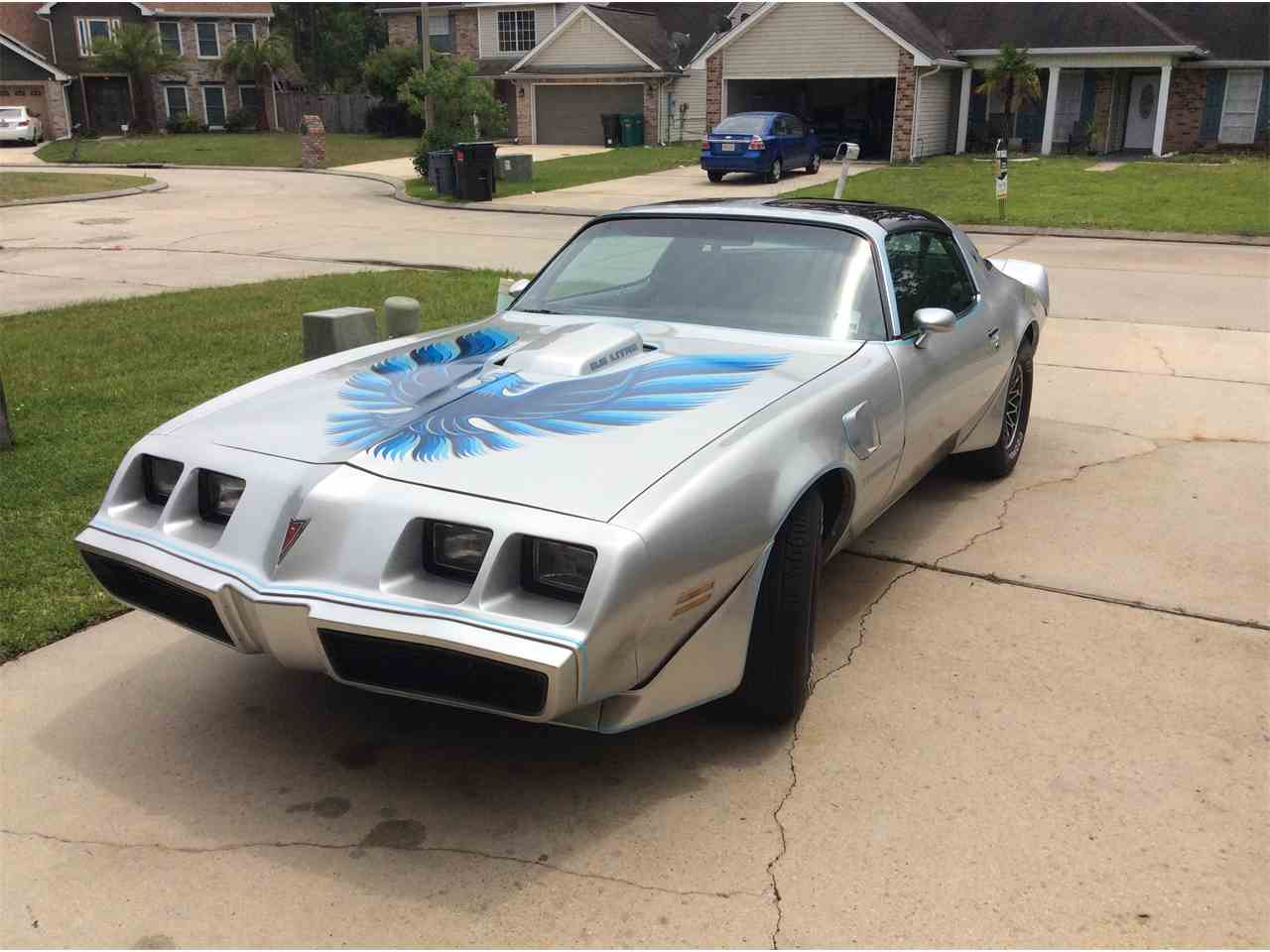 1979 pontiac firebird trans am for sale cc 979365. Black Bedroom Furniture Sets. Home Design Ideas