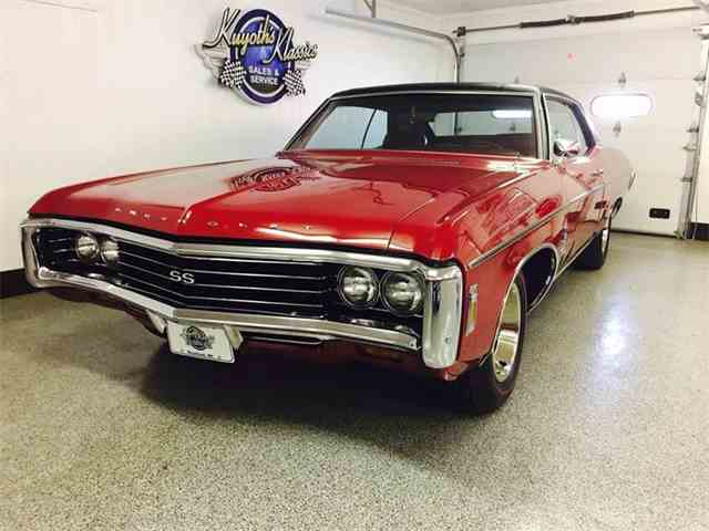 1969 chevrolet impala for sale on 11 available. Black Bedroom Furniture Sets. Home Design Ideas