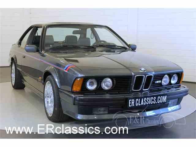 1987 BMW M6   979447