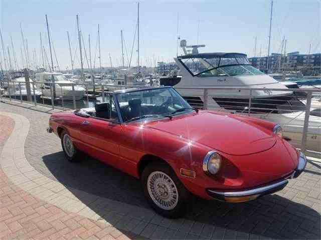 1979 Alfa Romeo 2000 Spider Veloce   979506