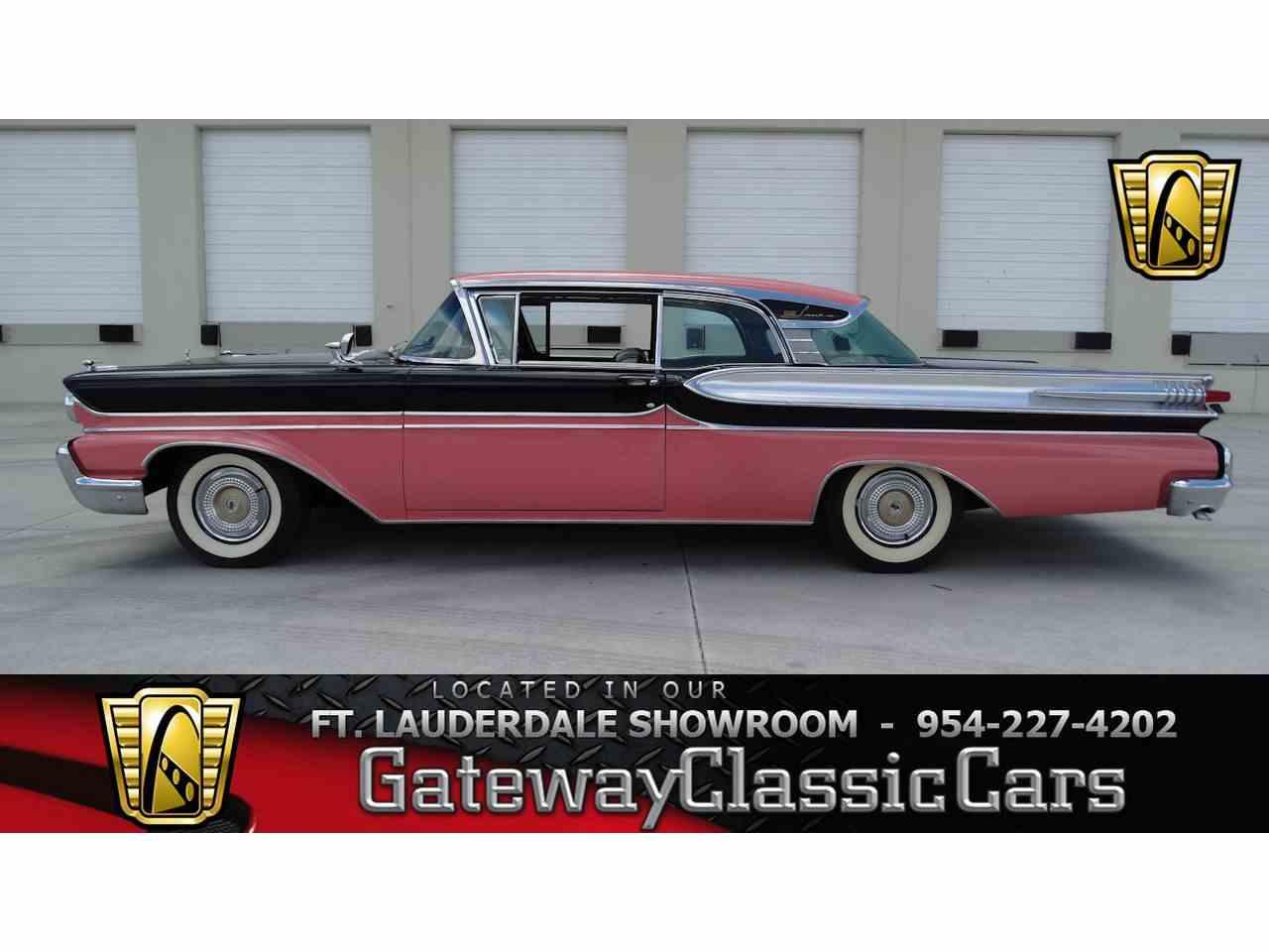 1958 mercury park lane for sale cc 979532. Black Bedroom Furniture Sets. Home Design Ideas