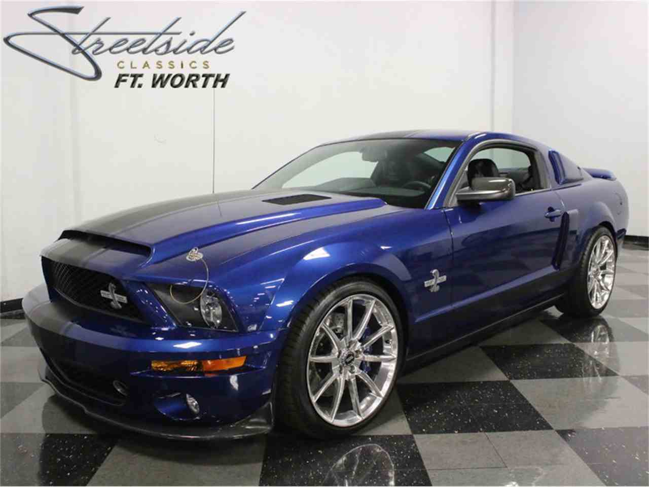 2008 ford mustang shelby gt500 super snake for sale cc 979639. Black Bedroom Furniture Sets. Home Design Ideas