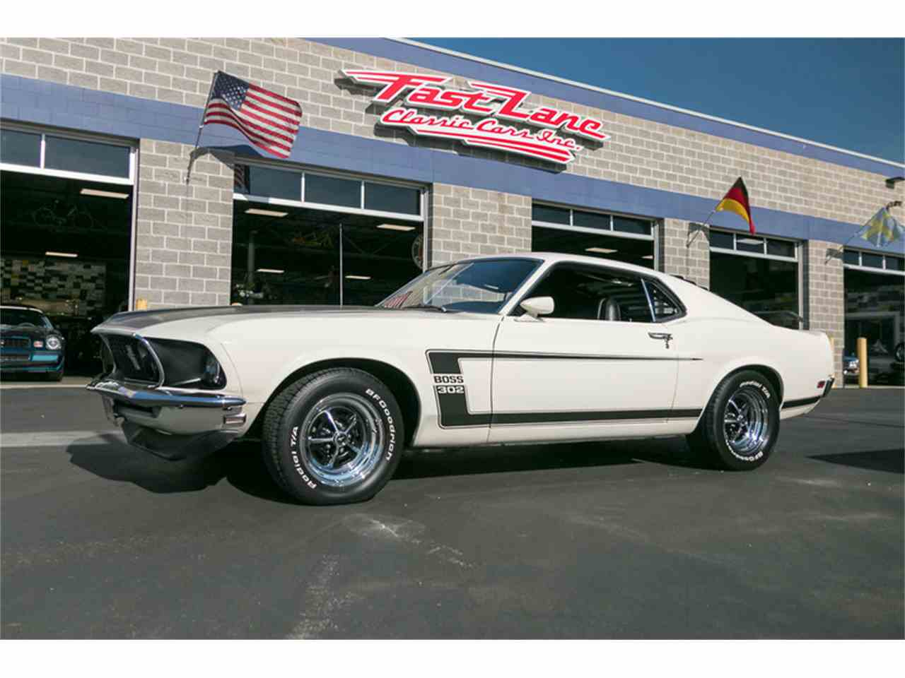 1969 ford mustang boss for sale cc 979647. Black Bedroom Furniture Sets. Home Design Ideas