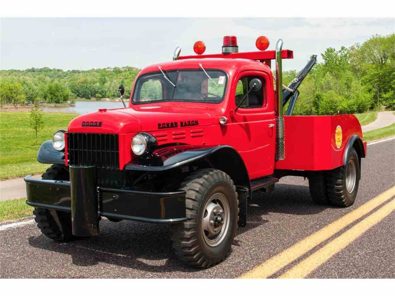 1942 dodge power wagon tow truck for sale cc 979937. Black Bedroom Furniture Sets. Home Design Ideas