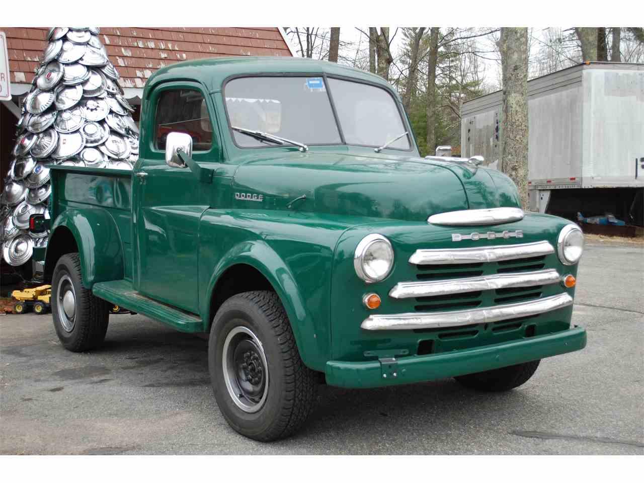 1949 Dodge Pickup For Sale Classiccars Com Cc 981010