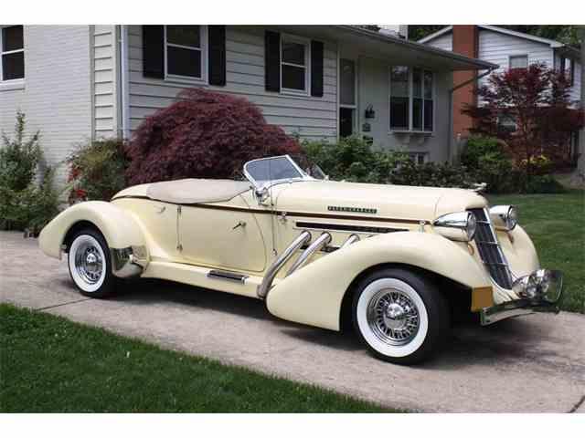 1935 Auburn Boattail | 981094